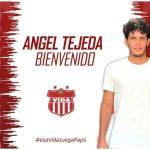 Vida hace oficial la contratación del delantero Ángel Tejeda