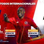 Costa Rica enfrentará a Bosnia y México en los amistosos de marzo