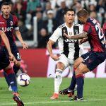 Juventus derrota 2-0 a Bologna y se acerca al líder Milan