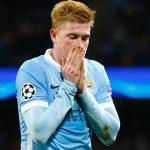 Manchester City pierde a Kevin De Bruyne