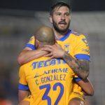 Tigres debuta con triunfo 2-0 ante el campeón León en el fútbol mexicano