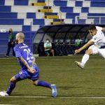 Roger Rojas marca su segundo gol con el Cartaginés que terminó perdiendo ante Pérez Zeledón