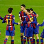 Messi y Barcelona remontan al Betis en un partidazo de la liga española