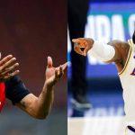 LeBron James sigue de pelea con Zlatan Ibrahimovic