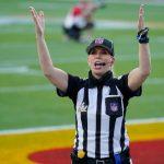 Sarah Thomas hace historia como la primera jueza del Super Bowl