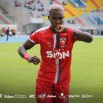 Rubilio Castillo debuta con gol en la Liga de Bolivia
