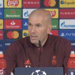 Zidane no teme a las represalías de la UEFA por la Superliga