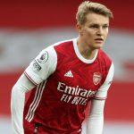 Odegaard, mejor jugador de marzo en el Arsenal