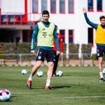Lewandowski regresa a los entrenamientos y jugará el sábado frente al Maguncia