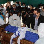 ¡Adiós Maestro! Sepultan los restos de Chelato Uclés