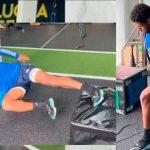 «Choco» Lozano anuncia su pronto regreso a las canchas después de sufrir una lesión de rodilla