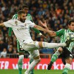 Real Madrid empata con el Betis y se complica en la liga española
