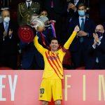 Lionel Messi alza su título 35 con el Barcelona