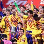 Barcelona golea 4-0 al Athletic y se consagra campeón de la Copa del Rey 2021