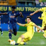 Villarreal deja con vida al Arsenal en la ida de las semifinales de la Europa League