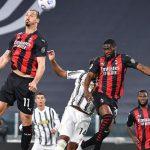 Juventus cayó goleado ante Milan y peligra su pase a la Champions