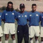 Diego Vázquez publica fotografía con el que fue su primer entrenador de porteros, Roy Posas