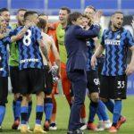 Inter festeja el título goleando 5-1 a la Sampdoria