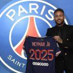 Neymar renueva con el PSG por tres temporadas