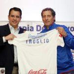 Rafael Villeda tras renovación de Troglio: «Contento de que podamos seguir haciendo historia»