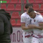 Rigoberto Rivas marca su quinto gol en empate del Reggina