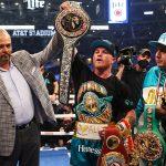 «Canelo» Álvarez le arrebató el cinturón de peso mediano al inglés Billy Joe Saunders