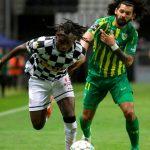 Alberth Elis marca su octavo gol en el empate del Boavista frente al Tondela