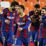 Barcelona remontó al Valencia y se jugará la liga contra el Atlético