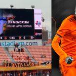 Boniek García llega a 250 partidos con el Houston Dynamo, club que rindió homenaje a Chelato Uclés