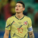 James Rodríguez desconvocado de la Selección Colombia por «no estar en óptimo nivel»