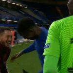 La imagen de Eden Hazard riéndose tras la eliminación que indigna al madridismo