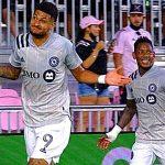 Montreal Impact y Romell Quioto derrotan 2-0 al Inter Miami y mantienen paso firme en la MLS