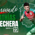 Marathón anuncia la renovación del defensor uruguayo Mathías Techera