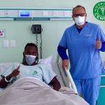 Alberth Elis operado con éxito en San Pedro Sula