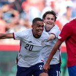 Estados Unidos golea 4-0 a Costa Rica en amistoso
