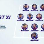 Tres hondureños en el 11 ideal de la Nations League de la Concacaf
