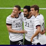 Alemania golea 7-1 a una débil Letonia previo a la Eurocopa