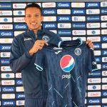 Carlos Meléndez es presentado como primer fichaje de Motagua para el torneo Apertura 2021