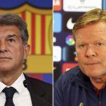 Oficial: Laporta anuncia que Ronald Koeman seguirá en el Barcelona