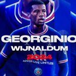 Georginio Wijnaldum, nuevo fichaje del PSG